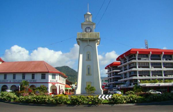 Apia Town Clock