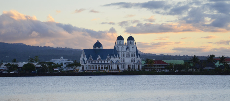 Mulivai Cathedral Apia