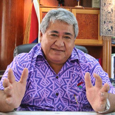 Prime-minister of Samoa Tuilaepa_Sailele_Malielegaoi