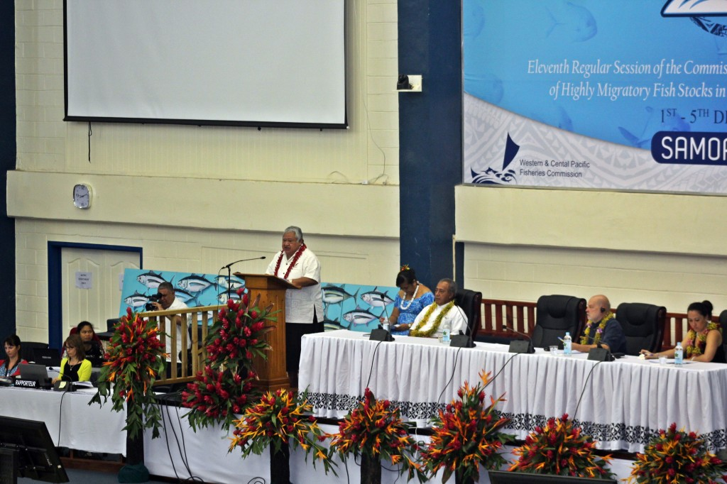 WCPFC11 Opening, PM Tuilaepa Speech