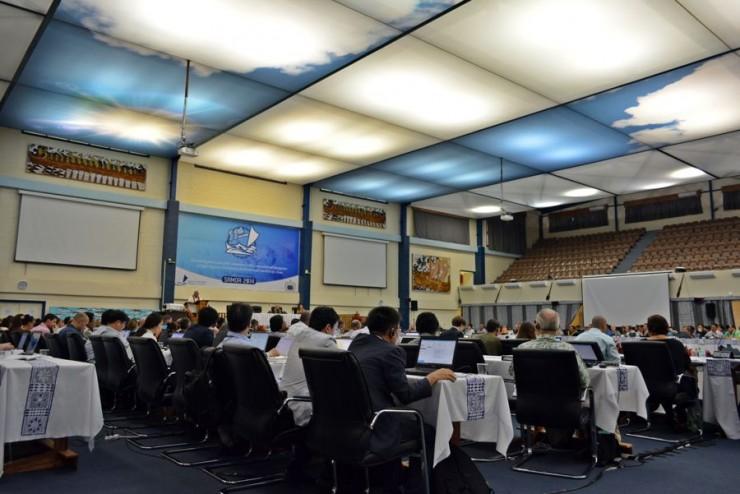 Upolu Plenary Hall, WCPFC11 Meeting