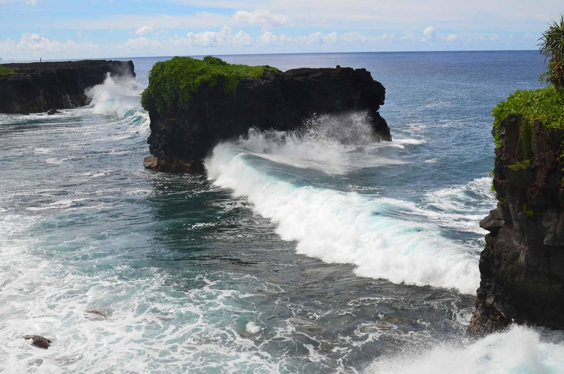 Coastal walk-Pupu Pu'e National Park
