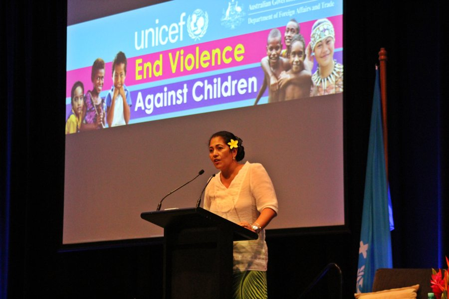 violence against children speech