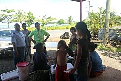 MESC and Police run spot-checks in Savaii