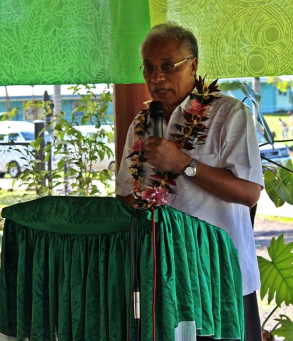 Minister of Education, Magele Mauiliu Magele