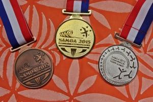 SCYG2015 Medals