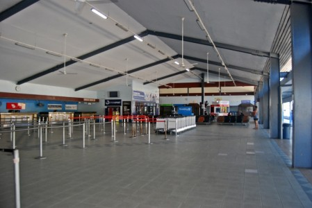 Current Check-in area for Faleolo International Airport.