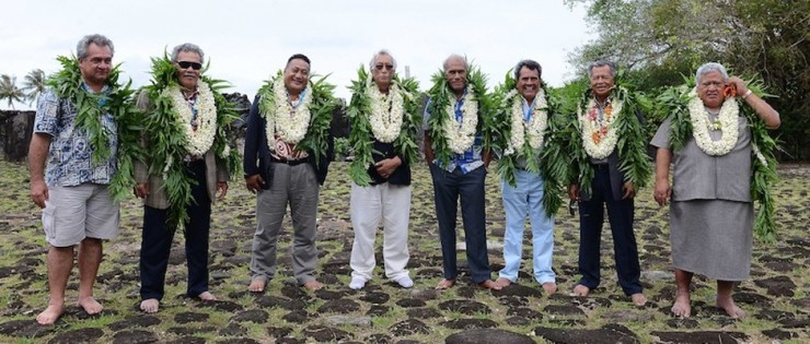 Polynesian Leaders Group meet to sign Taputapuatea Declaration on Climate Change