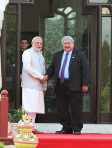 FIPIC - PM Modi and PM Tuilaepa - 21 August 2015