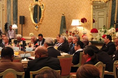 FIPIC - Samoa in Plenary Session - 21 Aug 2015