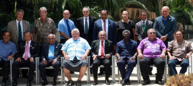 Pacific ACP Leaders' Meeting, Family Photo