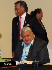 Samoa's Prime Minister