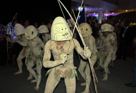 Traditional Papua New Guinea entertainment