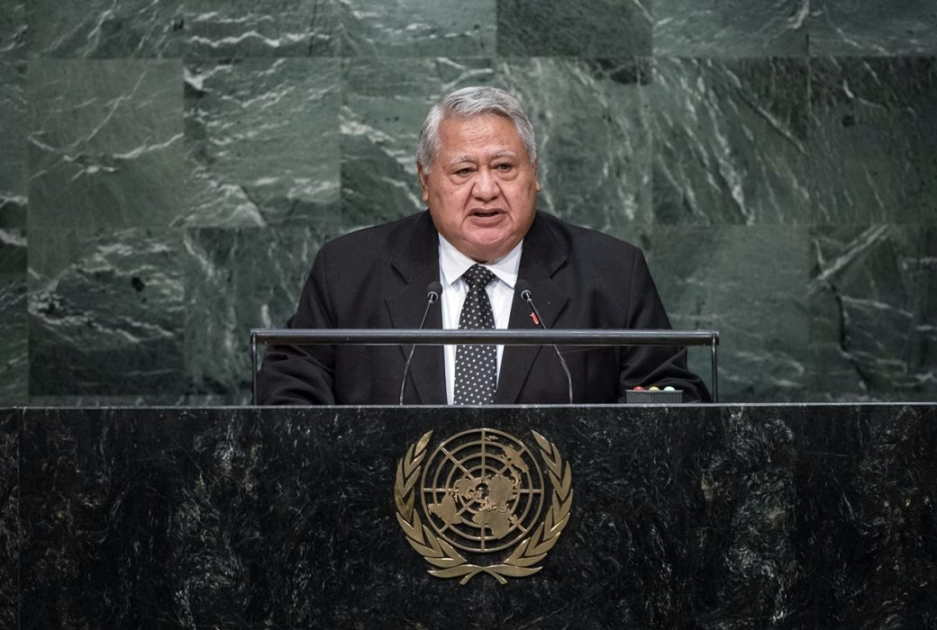 His Excellency Tuilaepa Sailele Malielegaoi, Prime Minister and Minister for Foreign Affairs and Trade of the Independent State of Samoa General Assembly Seventieth session