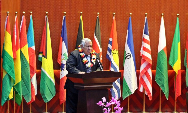 Tuilaepa delivers the Pacific Statement