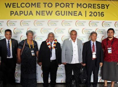 Samoa's delegation