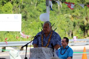 Prime Minister Tuilaepa delivers opening address