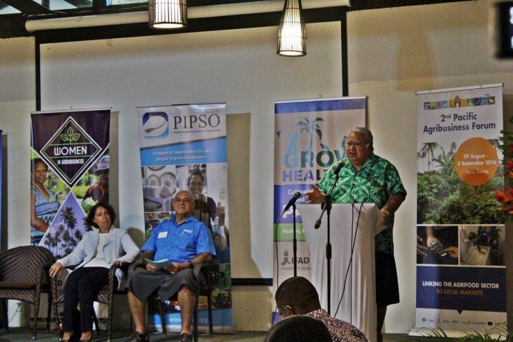PM Tuilaepa at PIPSO Agribusiness Forum