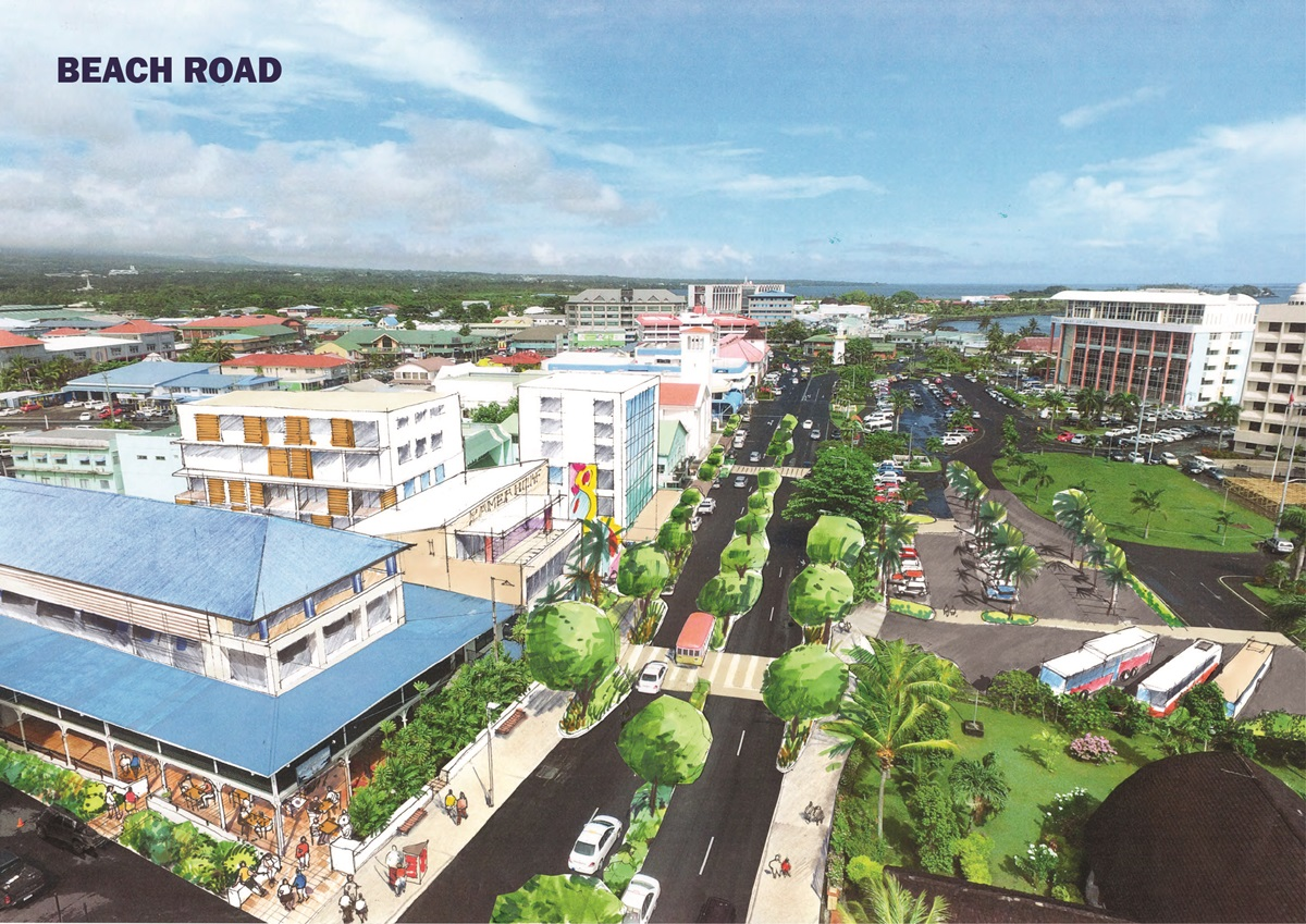 Sensational Launch Of Apia Waterfront Plan Government Of Samoa Largest Home Design Picture Inspirations Pitcheantrous
