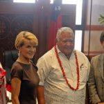 Samoa Australia Aid Arrangement Signing
