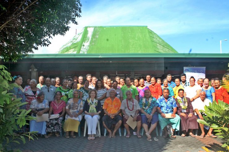 SUNGO Forum on Samoa Pathway and SDGs